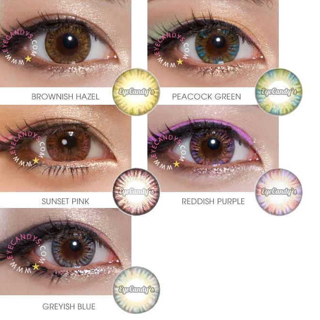 Most Natural Looking Prescription Colored Contacts