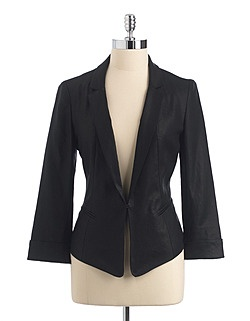 Black Linen Blazer--- wear with a skirt or pants. | Stonehill CollegeLight Pink Blazers, Stonehill Colleges, Black Linens, Contemporary Fashion, Women'S Jackets, Women Jackets, Linens Blazers, Fall Winte Style, Fashion Women