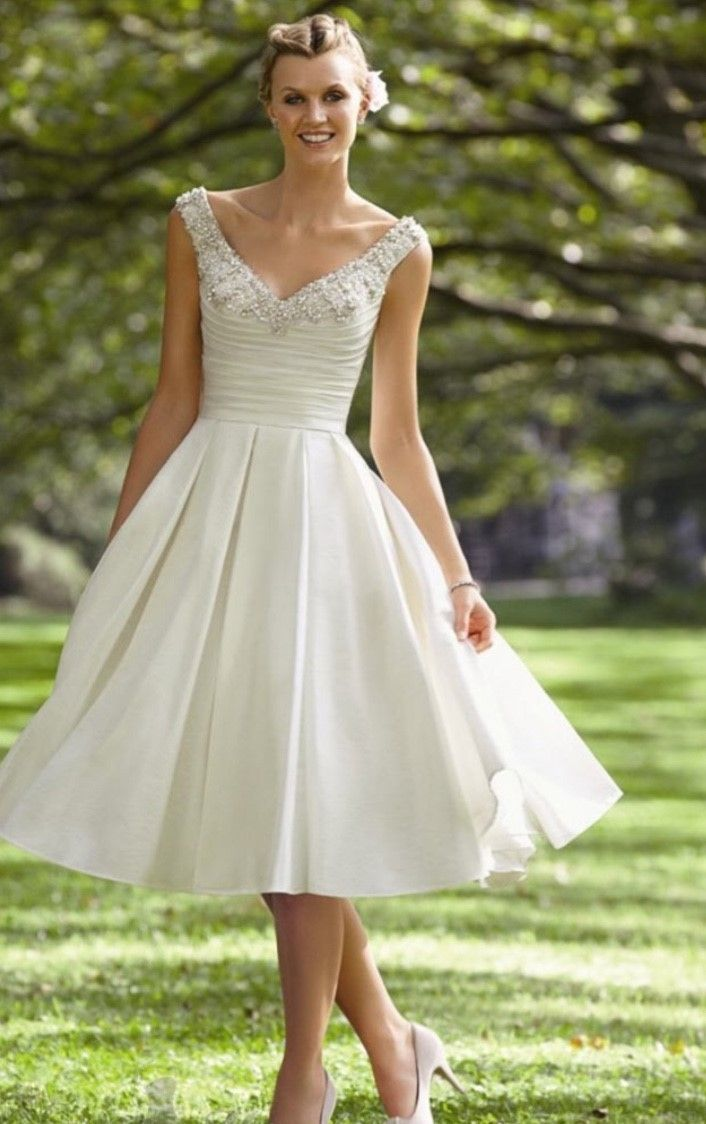 cool Модные короткие свадебные платья — Кружевные, пышные ...