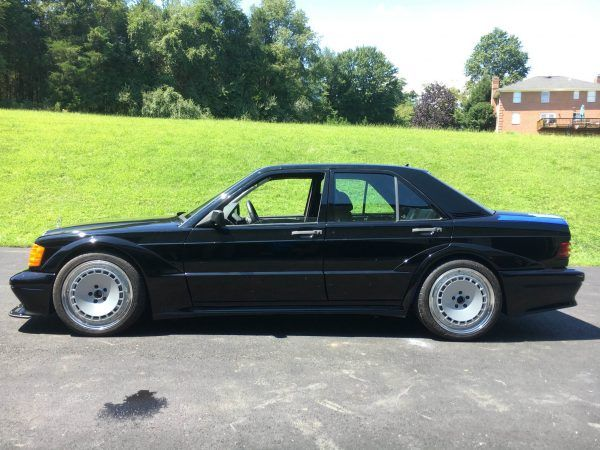 Frankenbenz - Mercedes 190E body on a C63 AMG chassis and