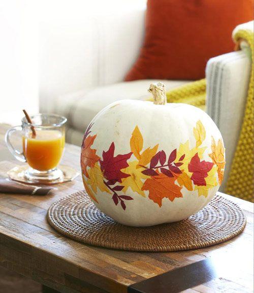 Fall Decorating Craft Ideas - Fall Home Decor - Good Housekeeping