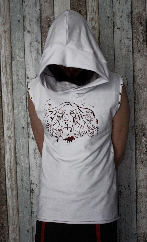 Image of Gentlemen's Bloody Harlot Hoodie/Vest