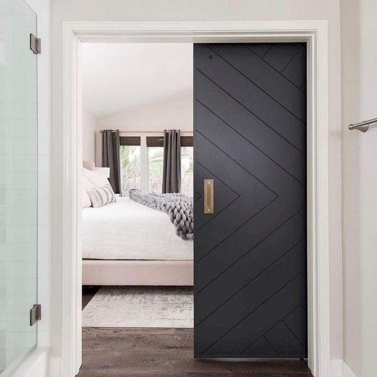 Barn Style Sliding Doors For Modern Bedroom Ideas