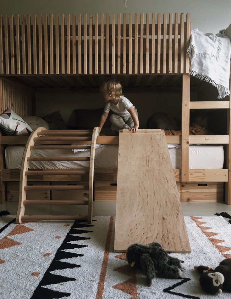 Unser Bogenleiter In 2019 Little Spaces Pinterest Kids Bedroom