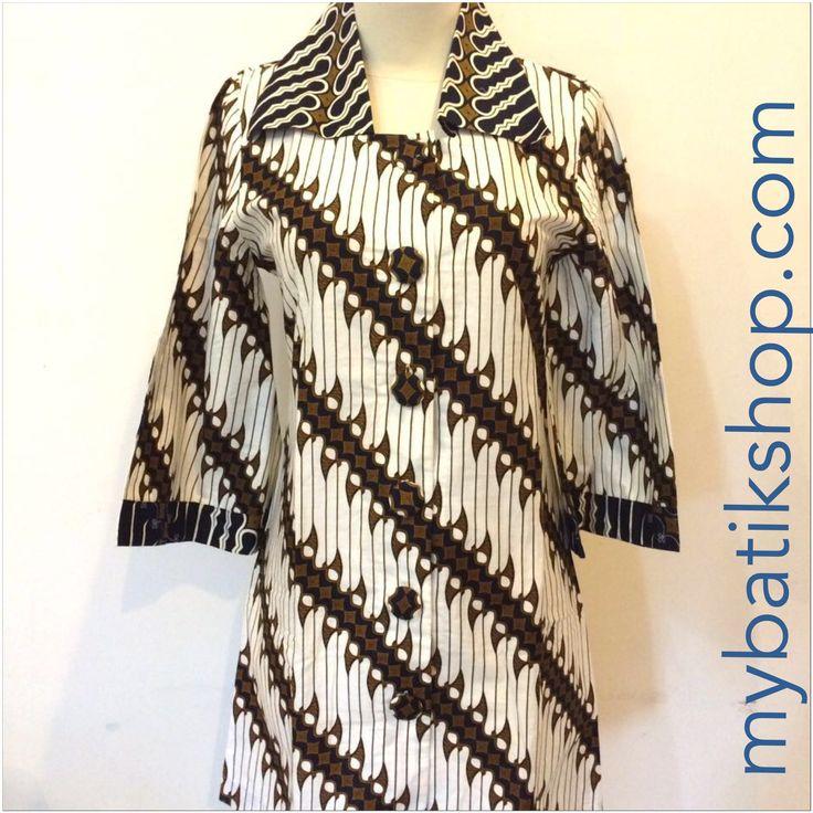 Batik Keris Modern Parang Dress - XS