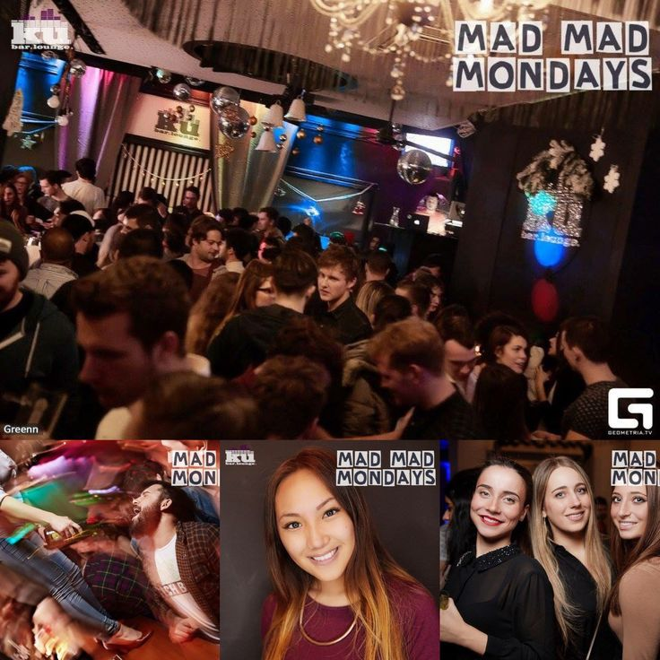 MAD MAD MONDAYS XMAS EDITION 21/12 AT #kubarlounge / join us for the next edition : Angels night - cuba libre for 8 people 380 Kč, 2 hours open bar for girls