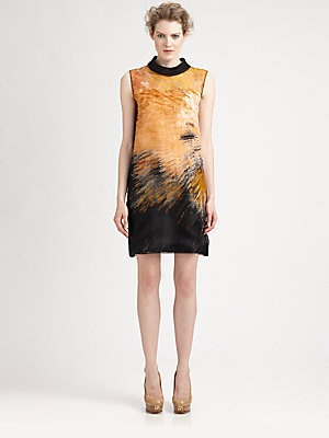 Fendi Silk Big Bang Dress