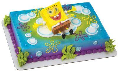 Torta di Spongebob
