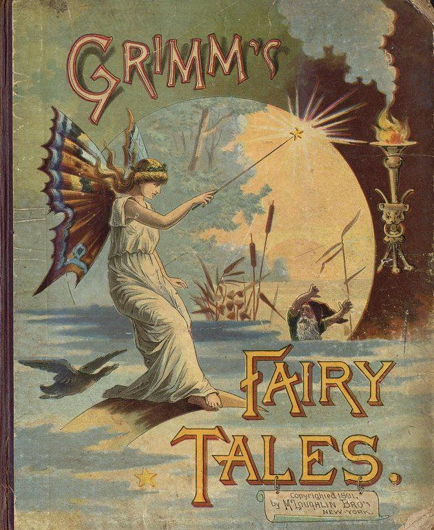 Grimm's Household fairy tales    c. 1891 McLoughlin Bros.