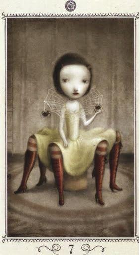 Bài viết Lá Seven of Pentacles - Nicoletta Ceccoli Tarot bài tarot Xem thêm tại http://tarot.vn/la-seven-of-pentacles-nicoletta-ceccoli-tarot/