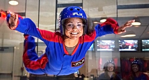 iFLY Indoor Skydiving | Houston, TX :: Ettractions.com Have you ever dreamed of #flying through the air, wind roaring in your ears, heart pounding in your chest? Would you prefer to do it without the heights? Well, #iFLY Indoor #Skydiving in #Houston is your solution. #ExploreHouston #Ettractions