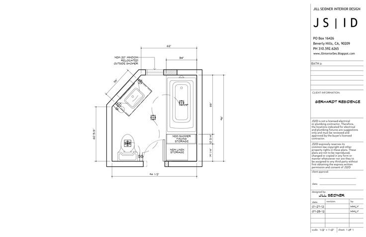 Bathroom Lighting Plan baldwin hills, ca residence, master bathroom remodel lighting
