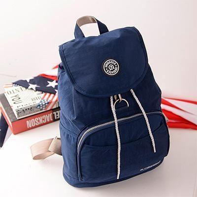 Backpack Waterproof nylon Casual Travel book Bag