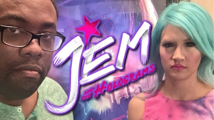 We Saw the JEM Movie : Black Nerd & Chrissa Sparkles