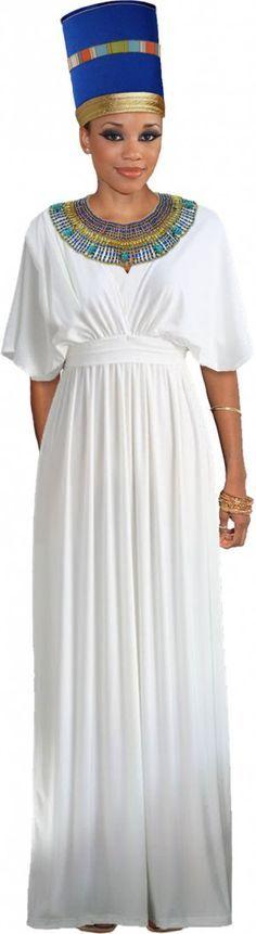 Make your own Nefertiti costume