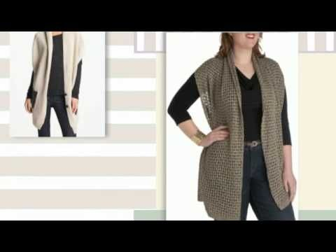 Вязание спицами для женщин - Модные модели 2015-2016 года с описанием - Видео уроки