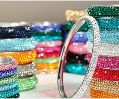 Stackable Stainless steel Bangle Bracelets | bling stacking  | Keep the Glamour | BeStayBeautiful