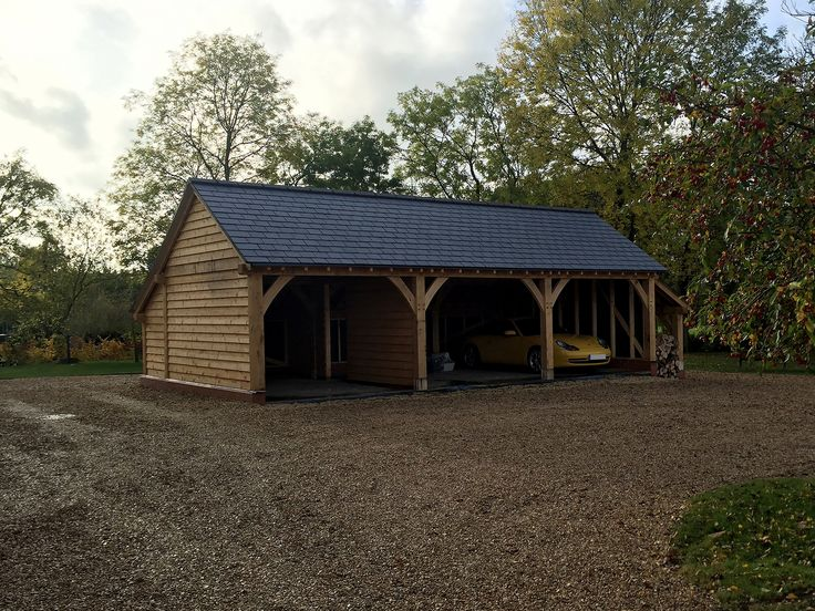 25 best ideas about carports uk on pinterest oak doors for 2 bay carport