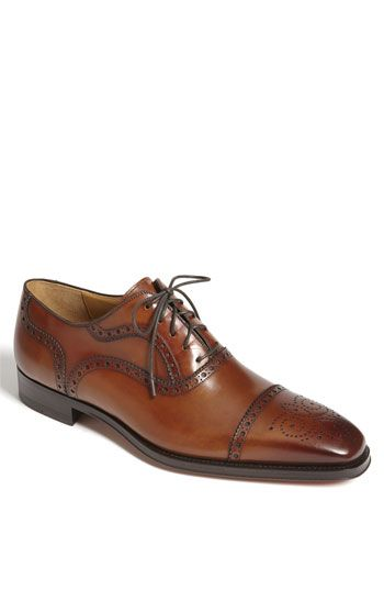 Love these cognac oxfords...great for a gray suit or jeans!