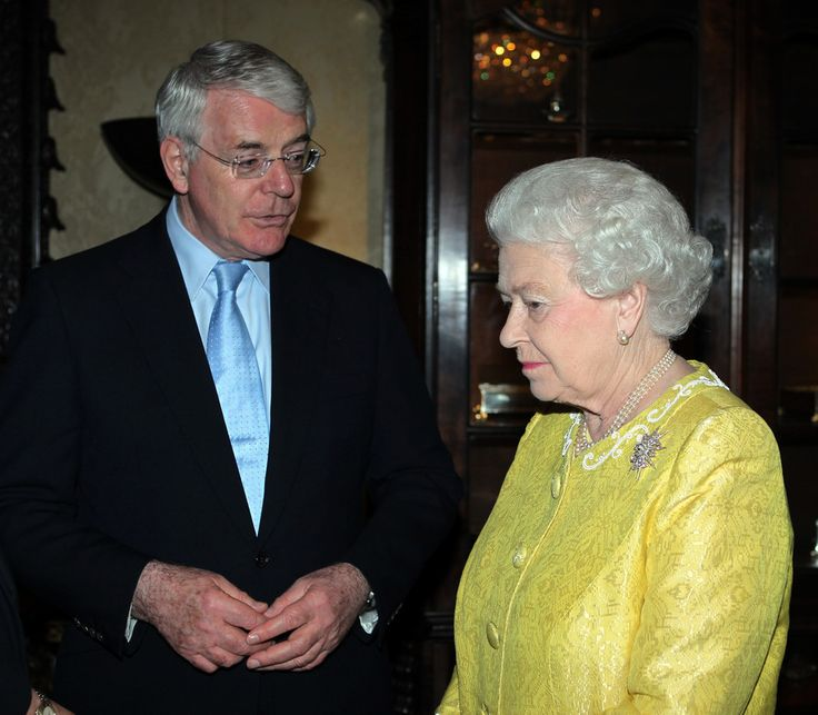 Image result for prime minister john major and prince charles