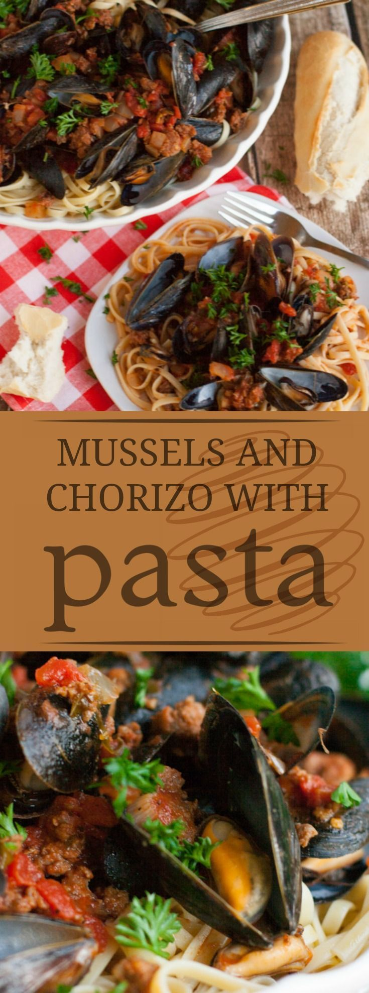 Linguine with Mussels and Chorizo | A perfect blend of meat and ...