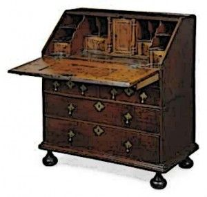 A Bureau Circa 1660 At Their Advent These Desks Were Used Predominantly By