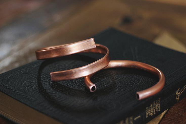 DIY Copper Cuff