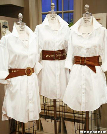 These DIY fashionable leather belts achieve the look of very expensive ones -- for a fraction of the cost.