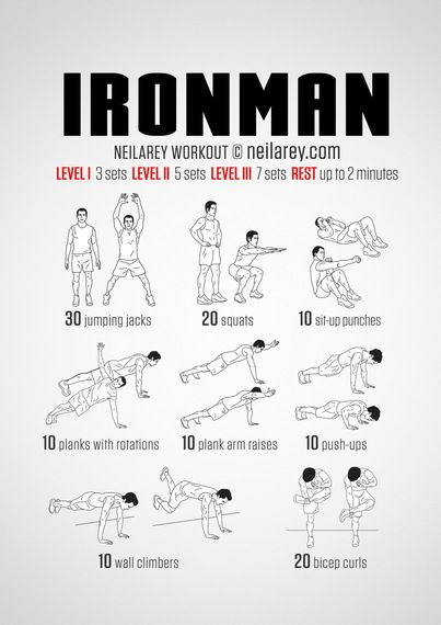 Train Like #Ironman - But doesn't his armor do most of the work?