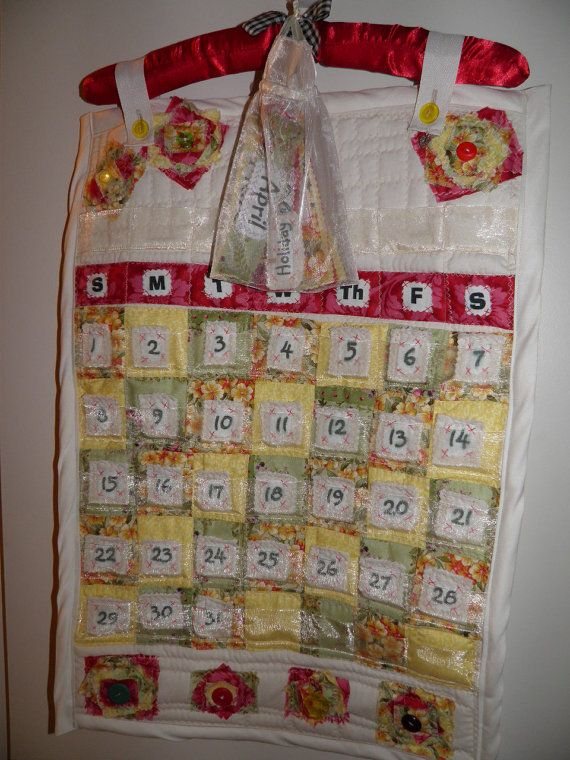 SALE Quilted Perpetual/Forever Calendar by sherimusum on Etsy, $43.00Quilt Perpetualforev, Shoppe Etsy, Perpetual Forever Calendar, Perpetualforev Calendar, Quilt Perpetual Forever, Sheri Shoppe, Sales Quilt