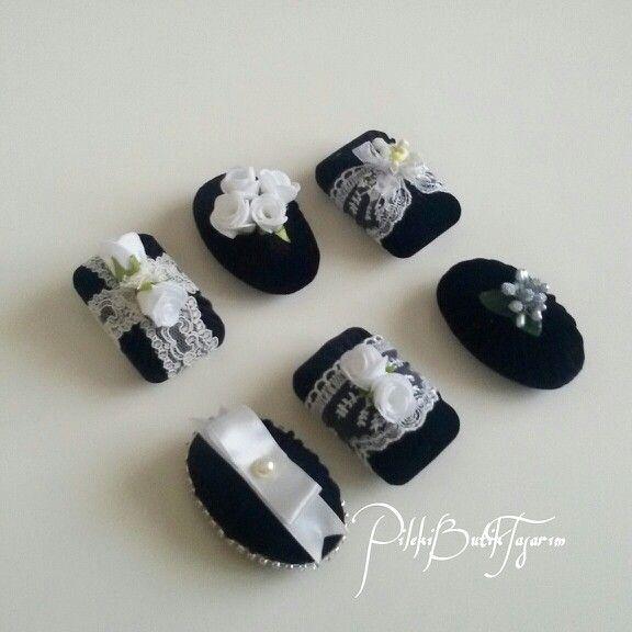 Kokulusabun sabun banyo siyah kadife dantel el işleri hediyelik organizasyon tasarım butik
