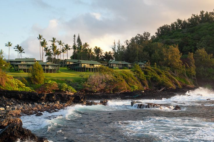 A feature on one of the most unique hotels in Hawaii. Maui, Hawaii.