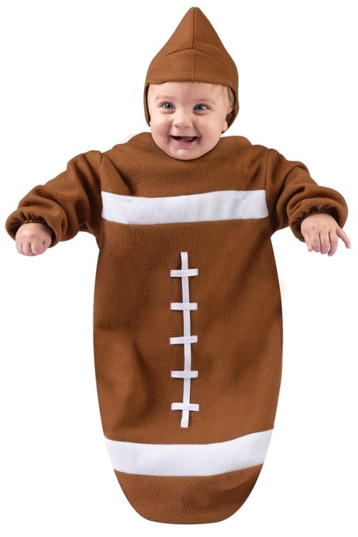 Football baby costume think, that