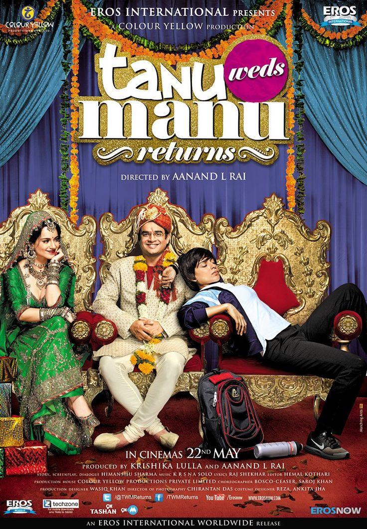 Tanu Weds Manu Returns (2015) Film Poster