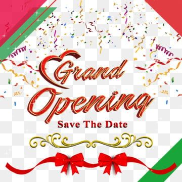 Grand Opening Elements And Decoration Png Grand Opening Grand Opening Ribben Grand Opening Decoration Png Transparent Clipart Image And Psd File For Free Dow Grand Opening Prints For Sale Banner Vector