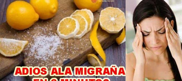¿Usted sufre de migraña? Aquí es cómo detener el dolor en 3 minutos!