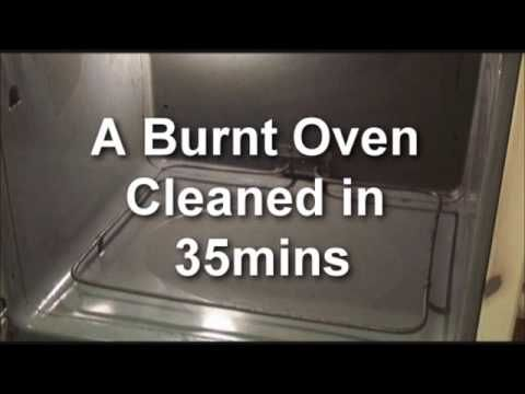 Cleaning a burnt oven with oil lift organization pinterest baking soda water ovens and - Clean burnt grease oven pots pans ...