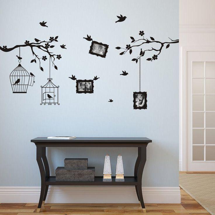 Wall sticker arbre des photos 9x13cm 3410n