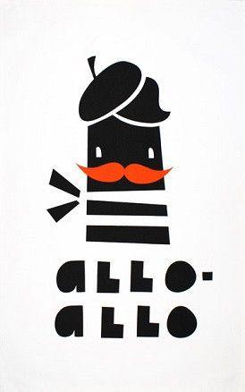 Utěrka Allo-Allo | Milujito