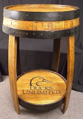 One of A Kind Jack Daniels Whiskey Barrel Table   eBay