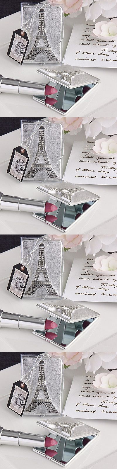 Favors and Party Bag Fillers 26385: 100 Eiffel Tower Mirror Compact Favors Paris Sweet Sixteen Wedding Event Lot -> BUY IT NOW ONLY: $101.99 on eBay!