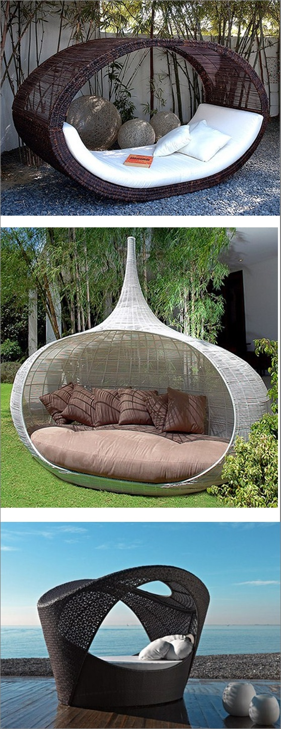 Outdoor Daybeds...I Just Found Out They Existed! Woot!