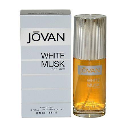 Jovan White Musk Eau de Cologne Spray for Men - 3 oz.