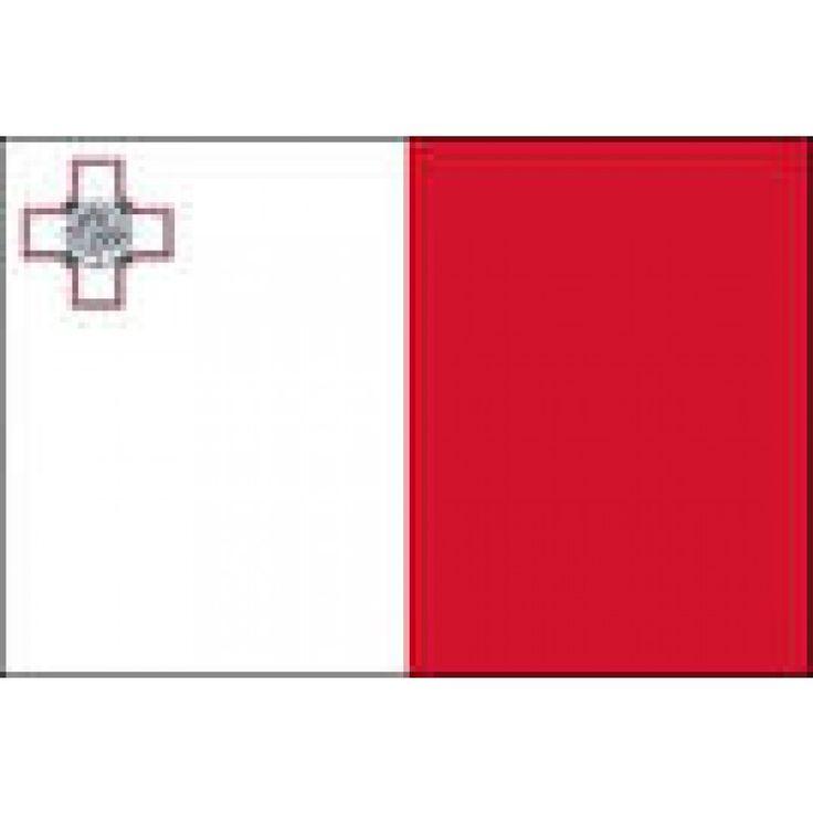 vlag Malta 100x150cm Maltezer vlaggen gastenvlag
