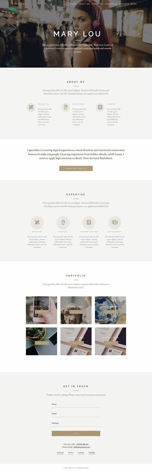 Miportfolio is a Responsive One Page Creative #WordPress Theme, featuring some cutting-edge Menu Styles.