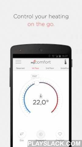 MyComfort  Android App - playslack.com , With myComfort from Windhager you can quickly guide your individual heating system everyday from your trusted smartphone or tablet in a user friendly, simple way. Whether you are at home or on the road, your heating system is always under control and you can regulate it from anywhere. You can set the temperature for when you come home or save energy when you leave your house.The app myComfort offers you innovative conditions and controls for your…