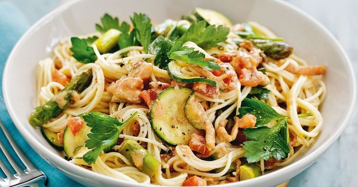 Yes, you can enjoy a creamy pasta without worrying about your weight! The secret is low-fat cream cheese.