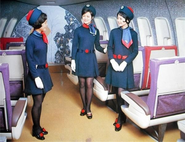 1970....HOTESSES DE L AIR...PARTAGE DE WAKAKO NIMURA....