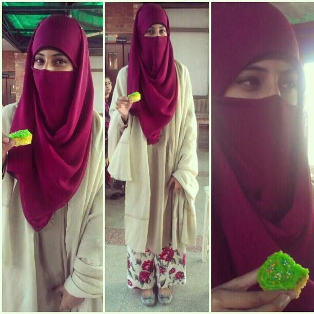 Nice niqab style