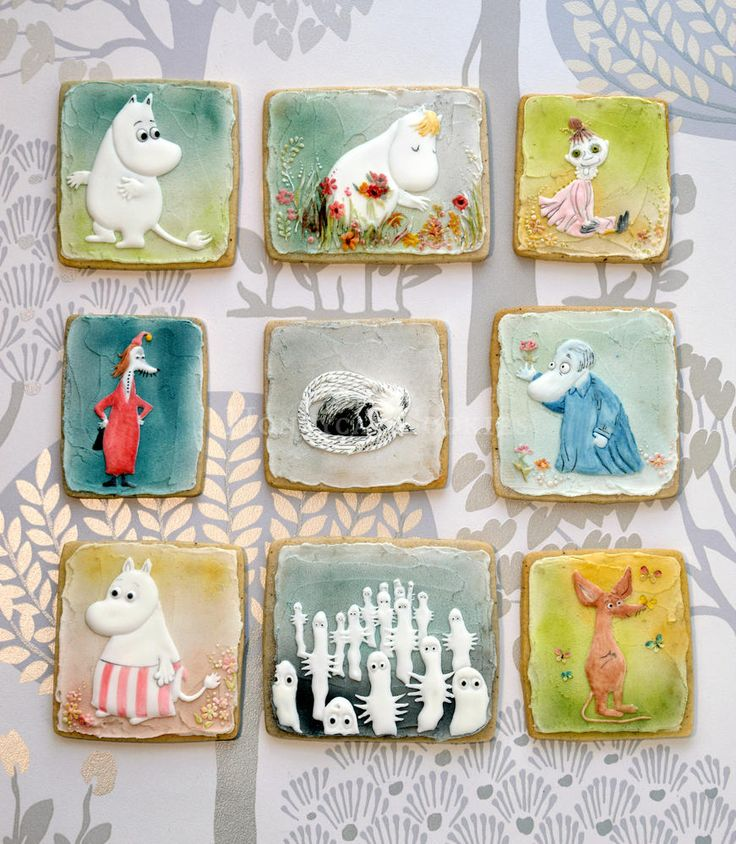 Moomin cookie set | Cookie Connection